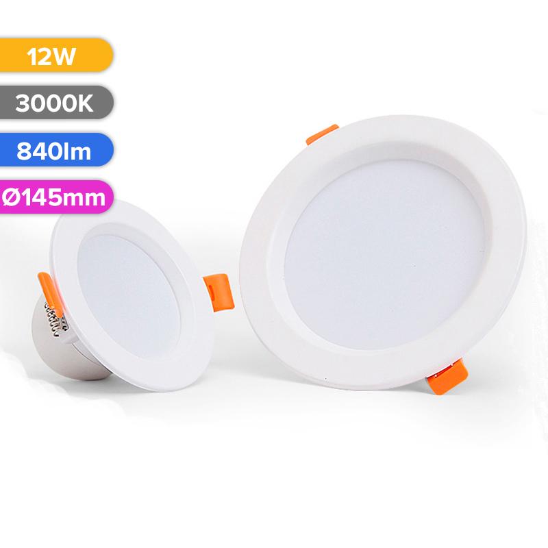 SPOT LED 12W 840LM 730 3000K D145MM FUCIDA