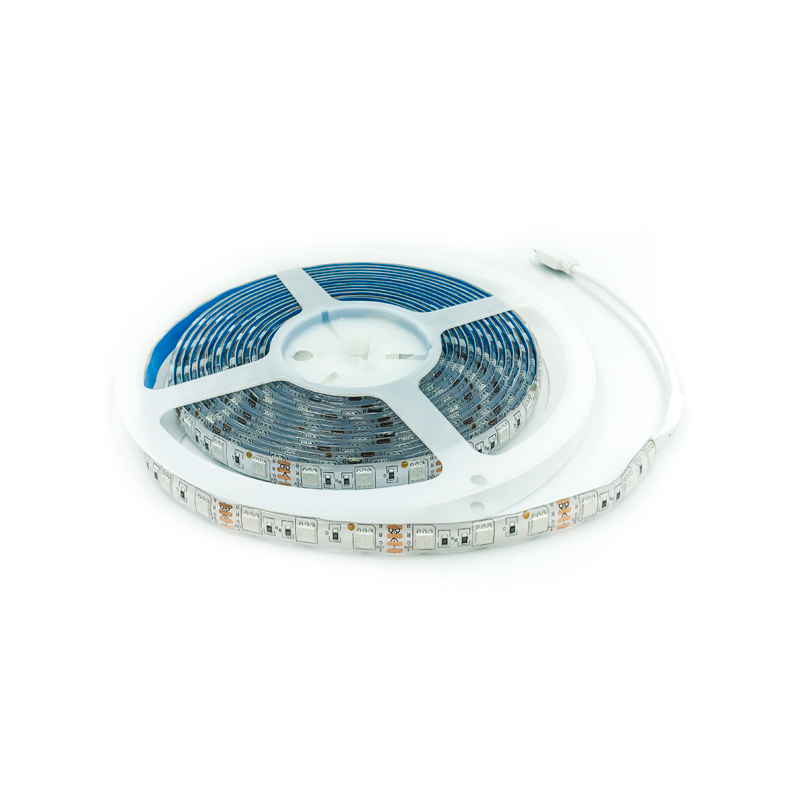 BANDA LED 14.4W 5050 RGB IP54 FUCIDA (5M)