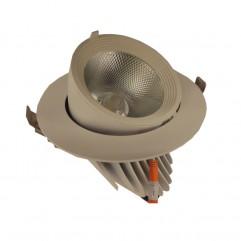 SPOT LED PROF. REGLABIL 30W 850 5000K D165MM FUCIDA