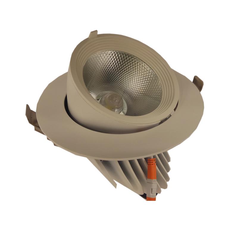 SPOT LED PROF. REGLABIL 30W 840 4000K D165MM FUCIDA