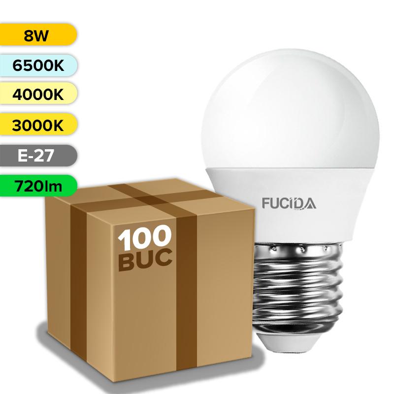 BEC LED G45 8W 720LM E27 FUCIDA ANGRO