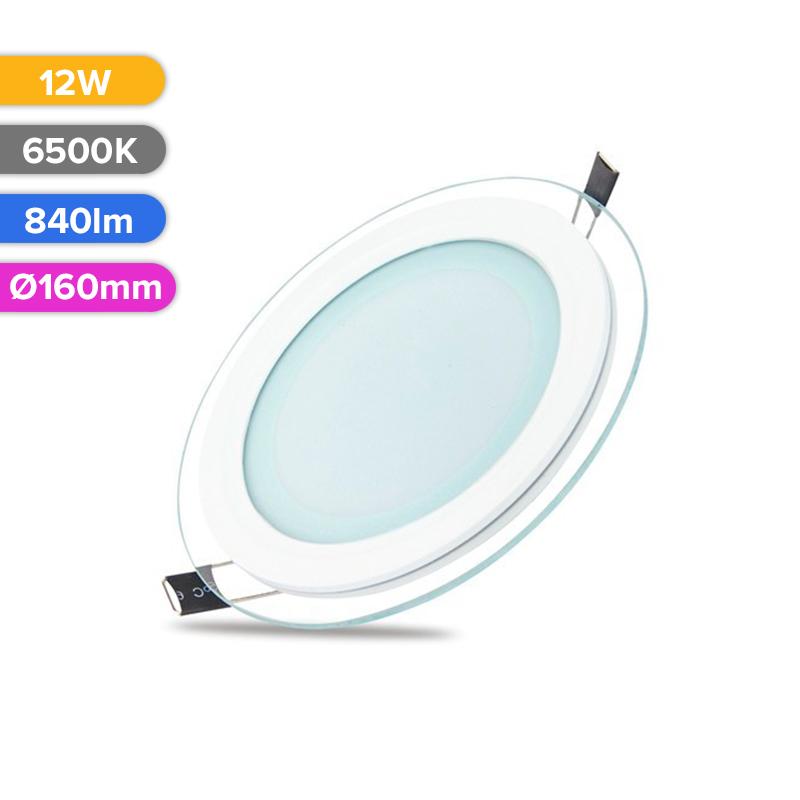 SPOT LED STICLA 12W 840LM 765 6500K D160MM FUCIDA