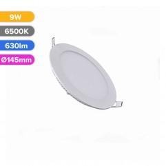 SPOT LED SLIM 9W 630LM 765 6500K D145MM FUCIDA