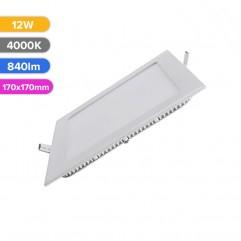 SPOT LED SLIM 12W 840LM 740 4000K 170X170MM FUCIDA