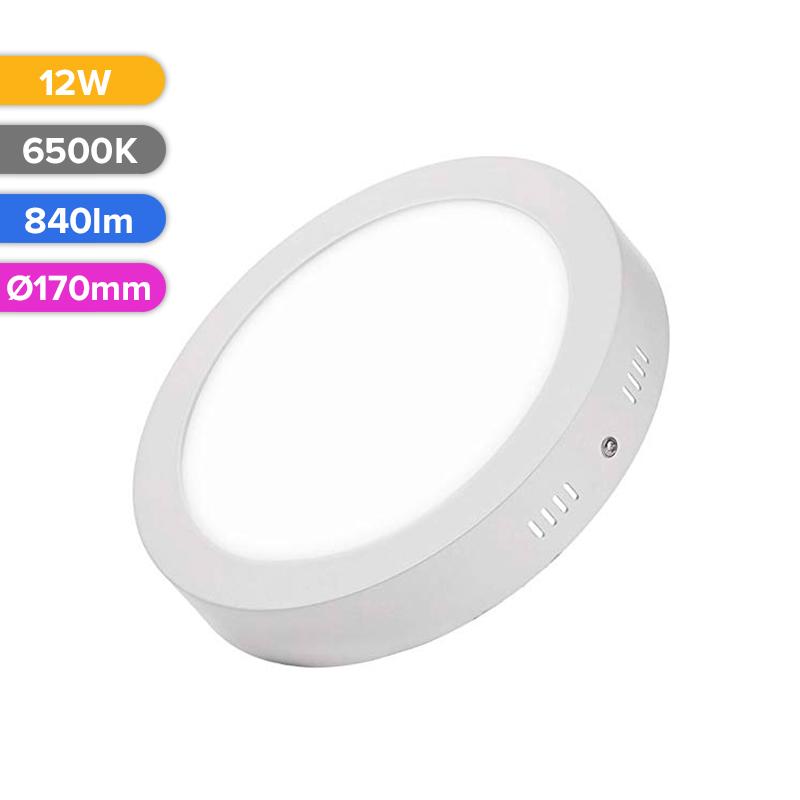 SPOT LED EXT. 12W 840LM 765 6500K D170MM FUCIDA