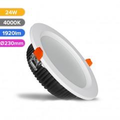 SPOT LED PROF 24W 1920LM 840 4000K D230MM FUCIDA
