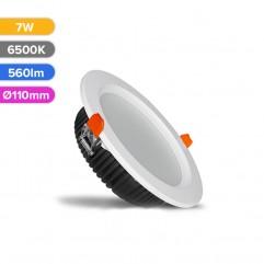 SPOT LED PROF 7W 560LM 865 6500K D110MM FUCIDA