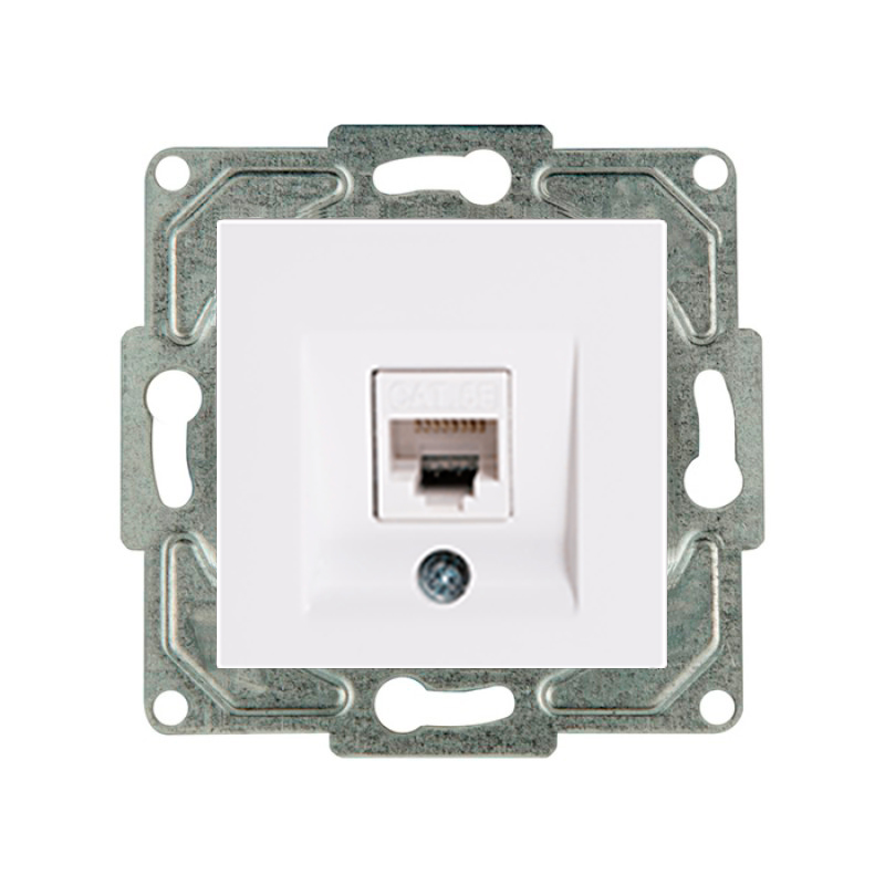 PRIZA UNIT. INT. DATE RJ45 CAT.6 IVORY