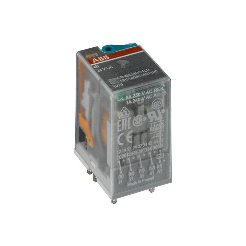 RELEU DE COMANDA CR-M012DC4L 6A 12VDC 4C/O LED ABB