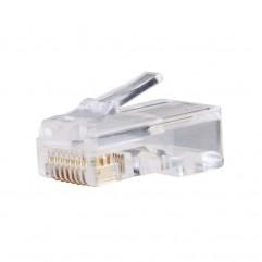 CONECTOR UTP RJ45 CAT.5E 8P8C WIRE EMOS
