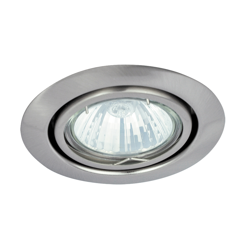SPOT RELIGHT AJUSTABIL GU5.3 220-240V 86MM SATIN C...