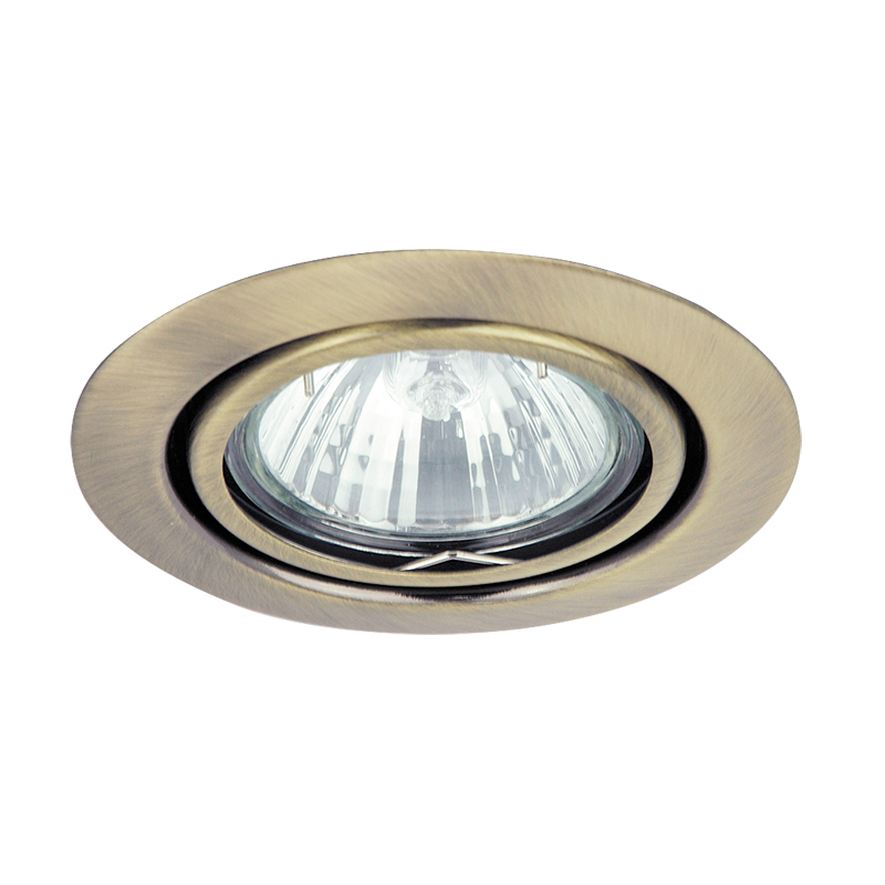 SPOT RELIGHT AJUSTABIL GU5.3 220-240V 86MM BRONZE ...