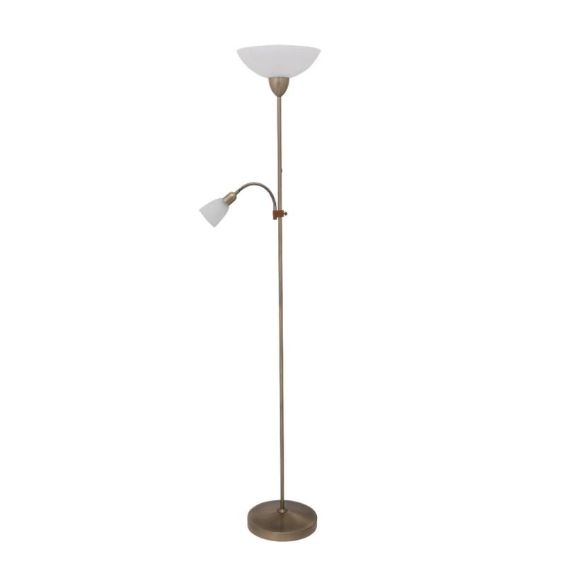LAMPA DE PODEA PEARL E27 G45 MAX. 60W + E14 MAX. 40W 300X1775 ALB RABALUX